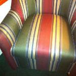 filthy sitting chair, room 212