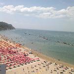 spiaggia dall'ottavo piano