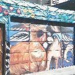 ツアー中に見た壁画