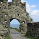 Better than average example of castle ruin