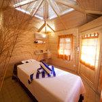 Single Treatment cabin inside