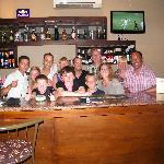 Jonny, the fantastic bar staff, and us