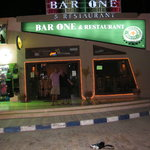Bar One entrance
