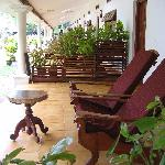 Old Sea View Rooms Terrasse
