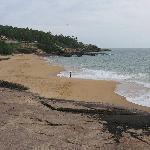 Strand vor Bethsaida Hermitage Blick nach Süden