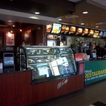 Inside McDonalds and McCafe