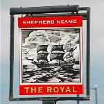 The Royal Pub Sign