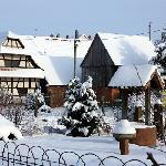 The village in winter