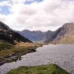 The Black Cuillins from Loch Coruisk