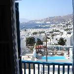 Aegean/city view room