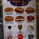 Todo por 1 euro