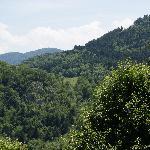 Panorama vu de la terrasse