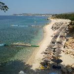 Hotel Beach - free sunbeds