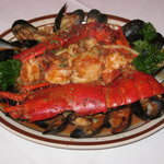 Linguine Seafood with Lobster