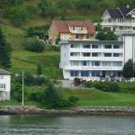 Balestrand Hotel from the boat