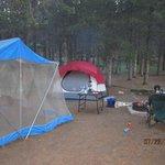 Our campsite, #72