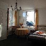 La chambre Caramel, ouvertures côtés sud et ouest