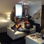 Double-bedroom suite
