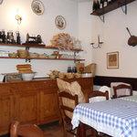 Inside Osteria alla Rosa, Malcesine