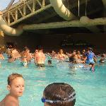 wave pool near Wilderness Hotel