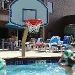 small pool near Wilderness hotel