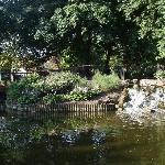 Park near Hotel
