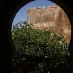 The entrance to Alcazaba