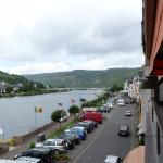 The Mosel River from our balcony