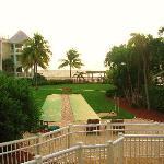 Walkway to pool & grounds of property