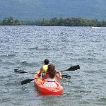 Kayaking on Lake George