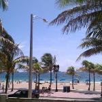 nice sunny day near las olas blvd
