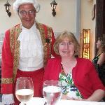 Mozart & wife (mine)