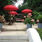 Back Garden at Amsterdam Hotel