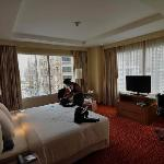Our spacious room with nice with