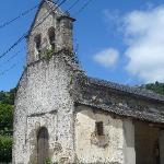 Iglesia de Gedrez, desde la entrada del restaurante