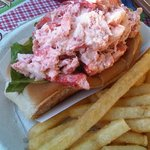 Lobster roll - think it must be an acquired taste