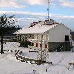 Hosteria Kaiken en invierno