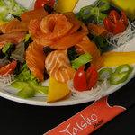 delicioso sashimi