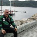 Au départ de la croisière des fjords..