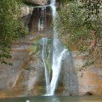 Calf Creek Falls just 15 minutes and an easy hike away!