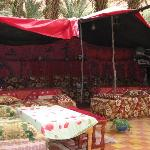 tent for dining