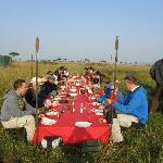 brunch on the Mara