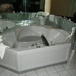 Snapshot of the jacuzzi.