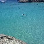 Crystal clear water at S'Amarador