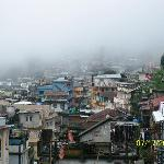 View of Kalimpong from the Hotel