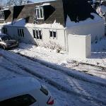 uncleared snow in drive way
