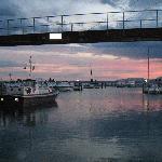 tramonto al porto di pacengo