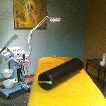 Evolve Facial Room, state of the art equipment