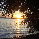 Sunset on Lake Cayuga.