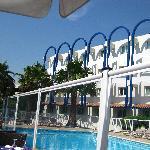 Poolside at Novotel